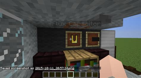 flux capacitors minecraft delorean time machine bttf minecraft project