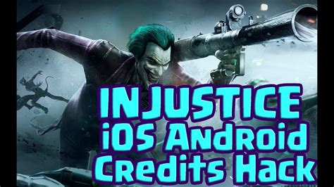 injustice android hack injustice unlimited credits energy hack ios android 2017 glitch