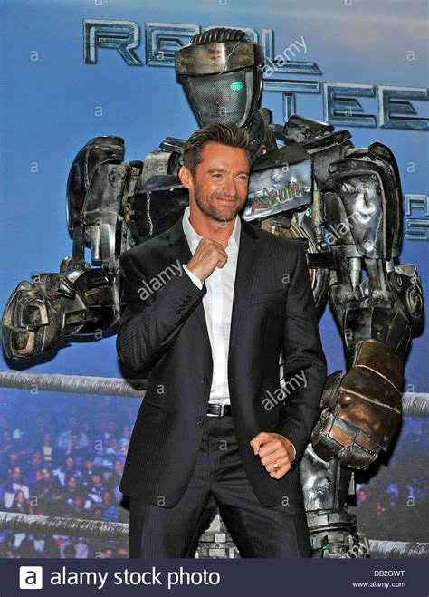 film robot atom australian actor hugh jackman poses with the robot atom