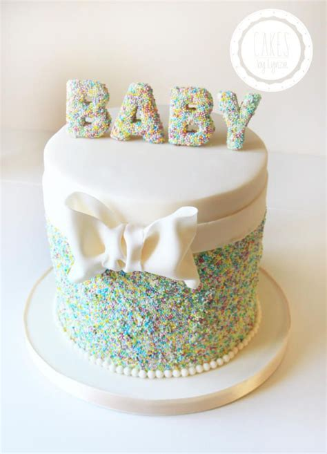 Cake Ideas For Baby Showers by Baby Shower Cake By Cakes By Lynzie Cakes Cake