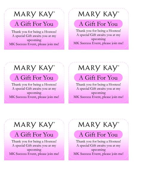 Mary Kay Gift Cards - 17 best images about my mk business on pinterest party planning mystery hostess and