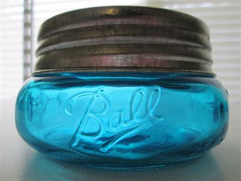 Jar 700ml Widemouth Pin Half turquoise widemouth squatty half pint jar