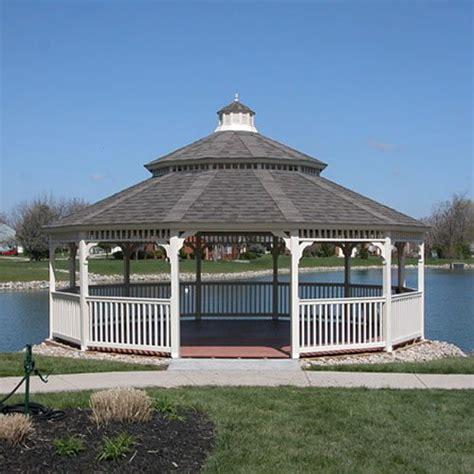 large gazebo large vinyl gazebos country gazebos