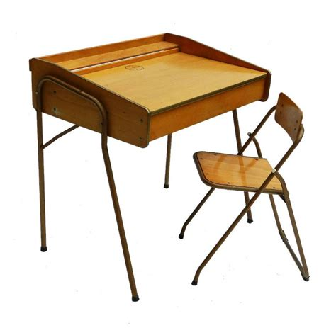 mid century childs desk chair by brevete