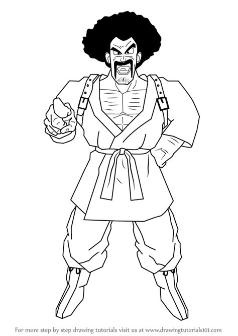 Z Drawing Images by Learn How To Draw Mr Satan From Z