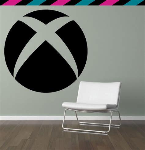 xbox wall decor xbox 360 circle videogame console halo wall decal
