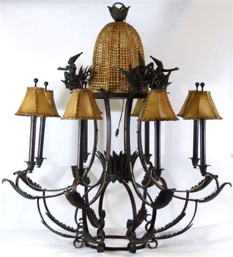 maitland smith ls lighting fixtures chandeliers maitland smith verdigris iron 8 light chandelier