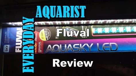 fluval aquasky led aquarium light fluval aquasky aquarium led light review doovi