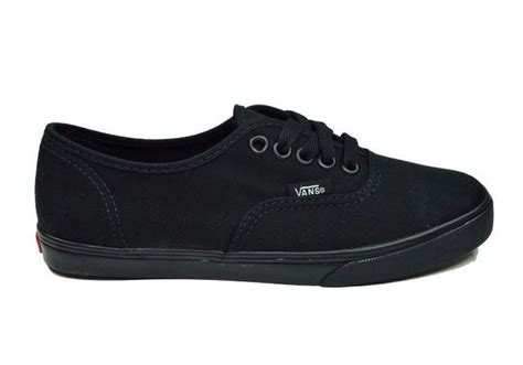 Sneakers Vans Authentic All Black Classic Canvas Vans Authentic Lo Pro Canvas Size Shoes All Black