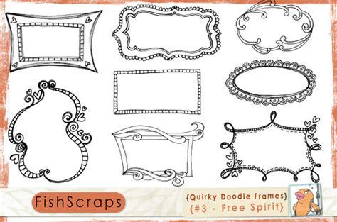 free doodle frame font doodle frames brushes free spirit illustrations on