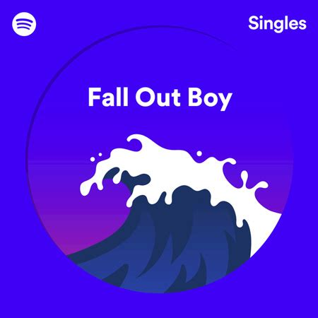 """fall out boy """"spotify singles"""" – """"hold me tight or dont"""