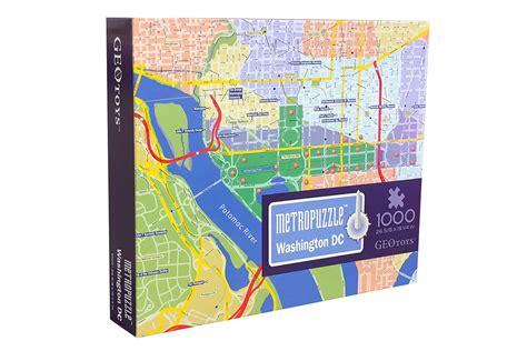 washington dc map jigsaw puzzle washington dc metropuzzle jigsaw puzzle puzzlewarehouse