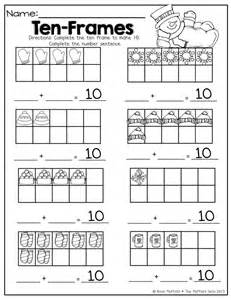 10 frame worksheets abitlikethis
