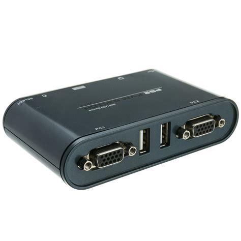 Kvm Switch 2 Port Ps 2 2 port kvm switch vga ps 2 and 1 usb port with cables
