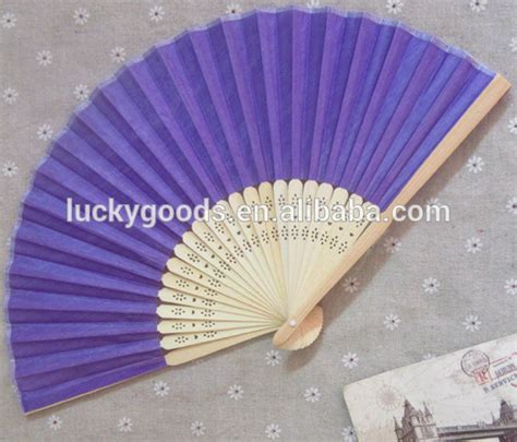 fancy hand fans wholesale decorative bulk silk hand fans wedding favors in plain