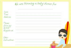 make your own baby shower invitations and thank you notes with our themed templates
