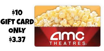 Amc Gift Card Promo Code - 10 amc theatres gift card only 3 37