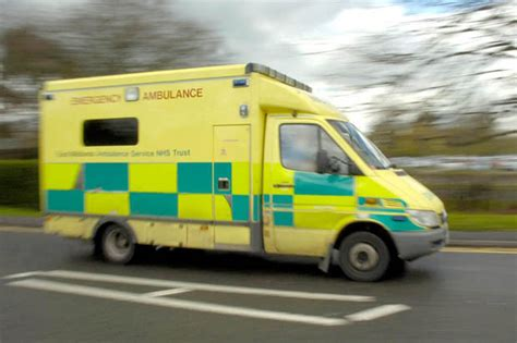 ambulance drivers to go back to driving school after costing 163 400k a year in crashes daily