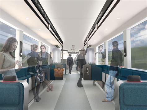 connect  train interior design concept maynard design