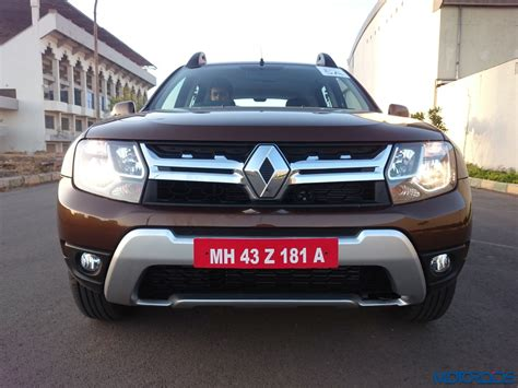 renault duster 2016 new 2016 renault duster facelift awd and amt review