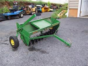 Tow Behind Tiller Used Equipment