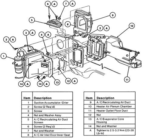 1998 ford f150 heater core flush 1998 ford heater core wiring diagrams repair wiring scheme