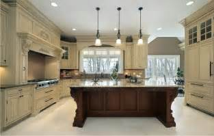 kitchen cabinet refacing ideas two tone color kitchen design ideas at hote ls