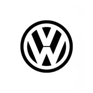 Logo Sticker Vw Logo Vinyl 10 Quot Sticker Decal Miscellaneous