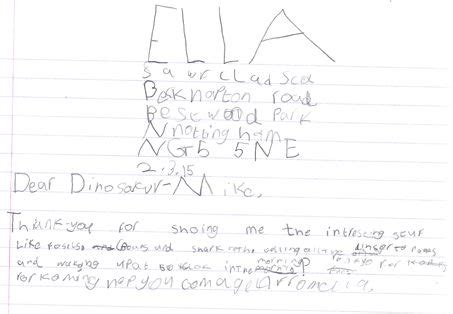 Thank You Letter Key Stage 1 17 best images about dinosaurs in schools on