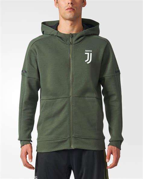 Zipper Hoodie Juventus Jaket fc juventus adidas jacket 2017 18 green anthem hoodie cotton ebay