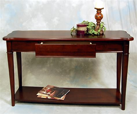 hazelnut narrow sofa console table ebay