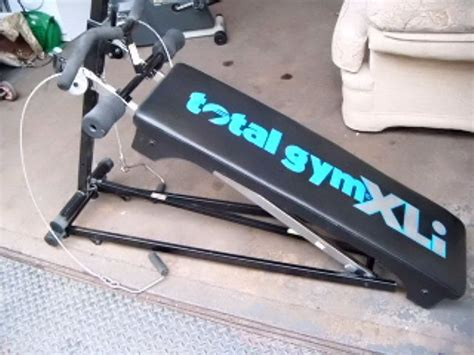 fold up exercise bench 178069 totalgym fold up exercise bench