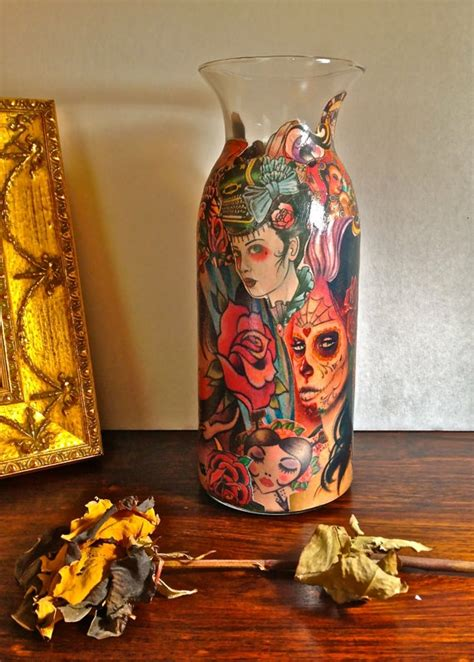 tattoo decoupage paper 17 best images about mod podge on pinterest fabric