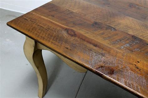 barn wood dining room table custom made french style barn wood dining room table with