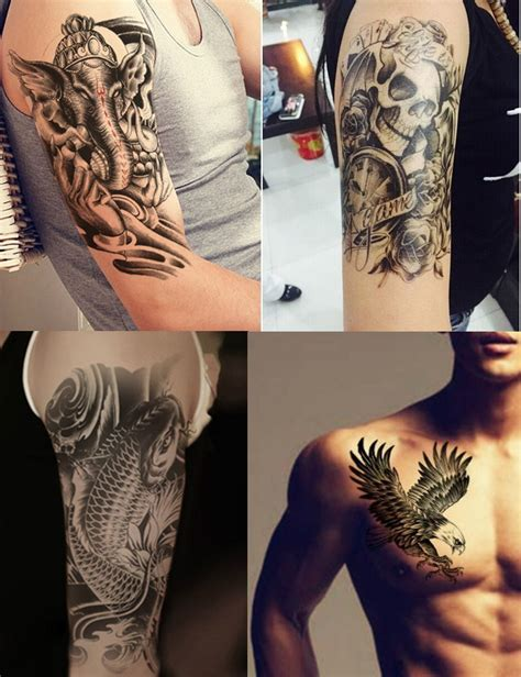 temporary tattoos for men 8 sheets temporary tattoos for guys boys