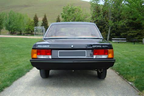 peugeot cars 1980 1980 peugeot 505211231
