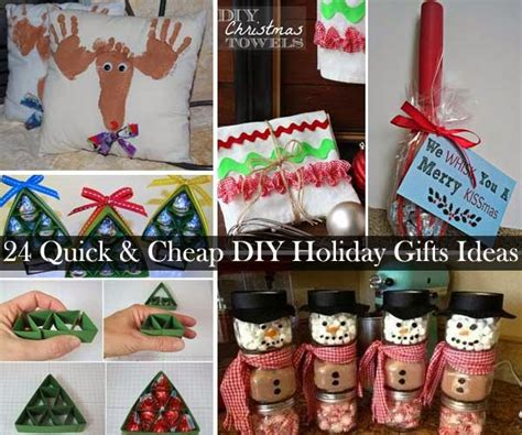 homemade christmas gift ideas 24 quick and cheap diy christmas gifts ideas diy craft
