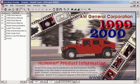 best car repair manuals 2002 hummer h1 electronic toll collection hummer h1 1999 2000 spare parts catalogs download electronic parts catalog epc online