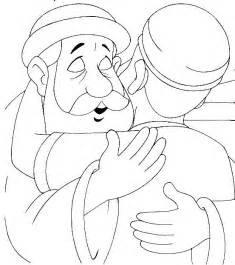 prodigal coloring page 1000 images about coloring bible nt gospels parables
