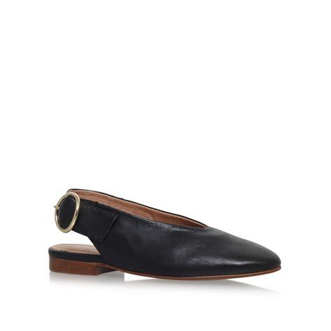 kurt geiger flat shoes black flat slip on shoes by carvela kurt geiger
