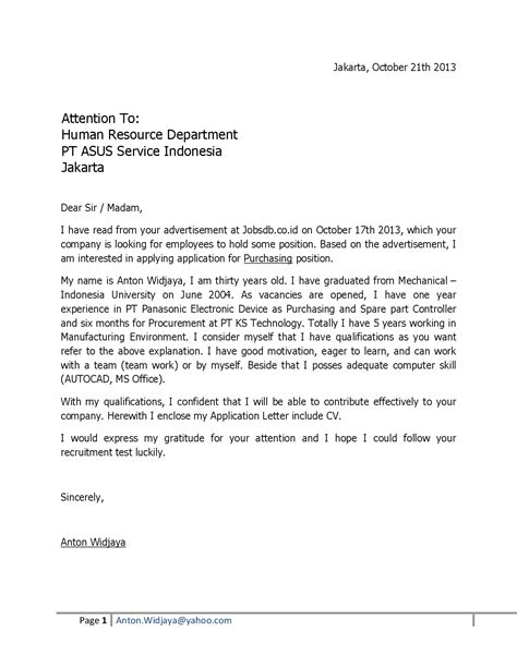 job application cover letter simple cover letters for jobs cover