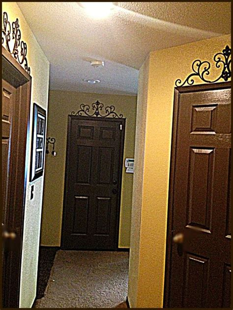 espresso brown doors through our my house matching baseboards and trim home sweet home diy