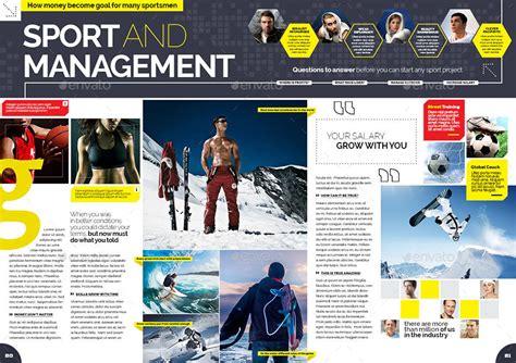 layout magazine sport sport magazine by becreative graphicriver