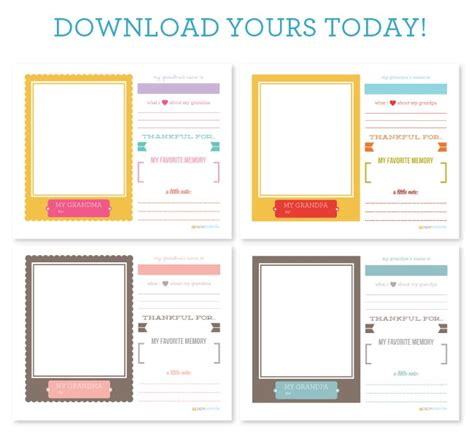 home decor printables archives crafty housewife grandparents day craft free printable somewhat simple