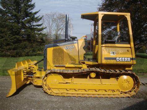 john deere 450h lt bulldozer axles