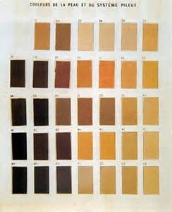 describing skin color paul broca skin color chart colorize