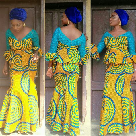 ankara styles skirt and blouse classical ankara skirt and blouse styles nigerian ladies