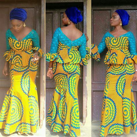 nigerian ankara skirt and blouse styles classical ankara skirt and blouse styles nigerian ladies