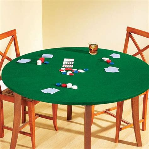 New Fitted Felt Card Game Tablecover Round Or Square