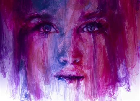 10 Jaw Dropping Pieces Of by Jaw Dropping Portraits Made From Layered Pieces Of Tulle